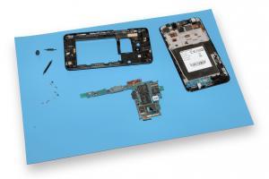 Magnetická antistatická podložka pre servis mobilných zariadení