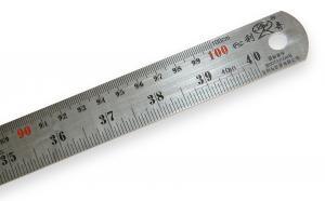 Nerezové pravítko 100cm
