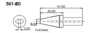 Hrot Bakon500-8D