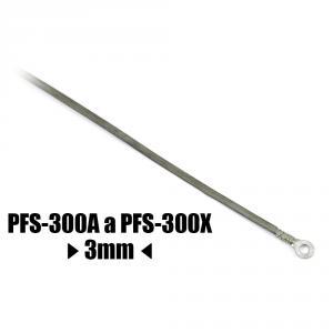 Náhradný odporový tavný drôt ku zváračke PFS-300A a PFS-300X 3 mm 345mm