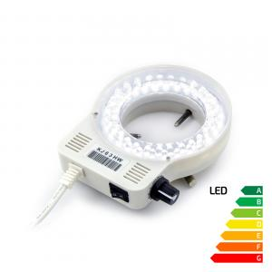 LED lampa s reguláciou intenzity k mikroskopom - 48 LED