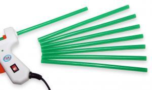 Tyčinka do tavnej pištole zelená priemer 7,5 mm 110ks(1kg)
