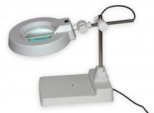 Lampa s kruhovou lupou typovej rady T86-B zväčšenie 3D