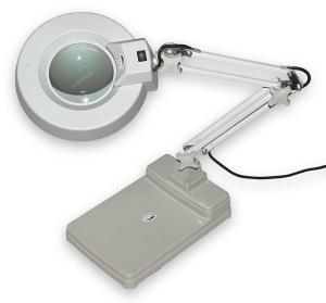 Lampa s kruhovou lupou typovej rady T86-C zväčšenie 3D