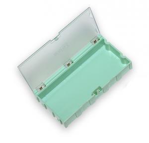 Miniatúrne plastové zásuvky na SMD súčiastky B4 - zelené