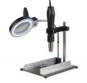 Držiak dosky plošných spojov s LED lampou, lupou a stojanom Yihua 628TD