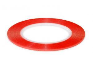 Výrobek: Obojstranná čirá lepiaca páska šírky 2mm zosilnená na lepenie sklíčok a LCD