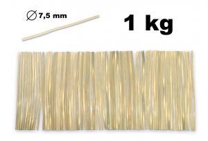 Lepiaca tyčka čirá do tavnej pištole priemer 7,5mm 1kg