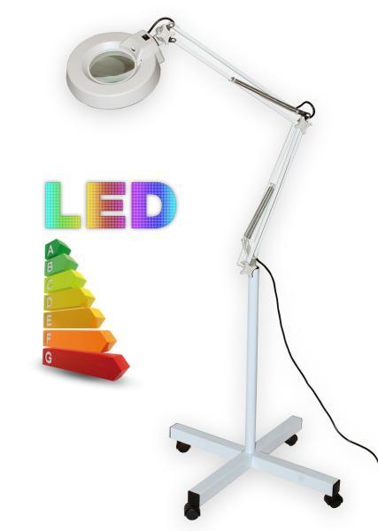 Stolná lupa s LED osvetlením T86-E zväčšenie 10 dioptrií