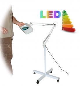 LED lampa so zväčšovacím sklom T86-F zväčšenie 5 dioptrií