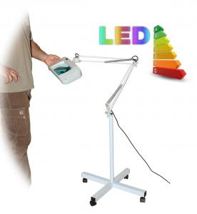 LED lampa so zväčšovacím sklom T86-F zväčšenie 8 dioptrií