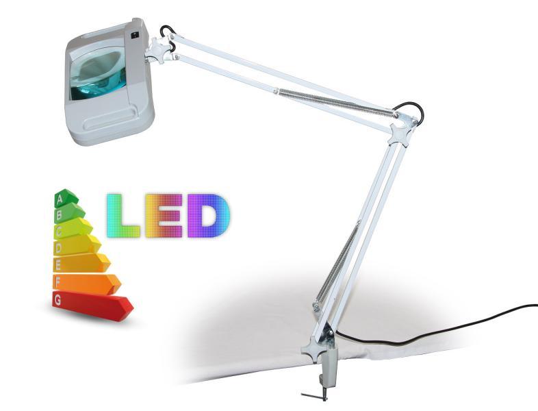 LED lampa so zväčšovacím sklom T86-G zväčšenie 8 dioptrií