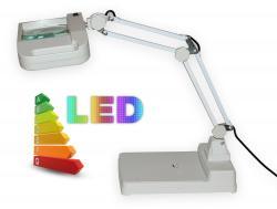 LED lampa so zväčšovacím sklom T86-I zväčšenie 8 dioptrií