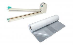 Páková zváračka fólií pre zatavovanie plastov FRN-700 so zváracou lištou so šírkou 700 mm