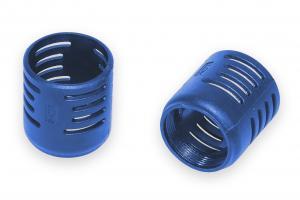Ochranné plastové prekrytie horúcovzdušnej trubice - modré