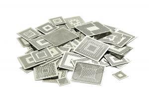 Set BGA šablón priamy ohrev k preguličkovaniu BGA čipov 560 ks