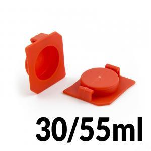 Horný uzáver kartuší 30ml a 55ml pre priemer 22.5mm