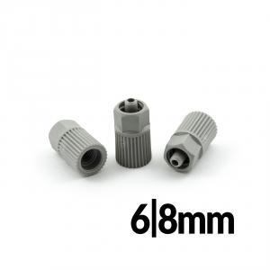 Redukcia pre mixéry 6 a 8mm k pripojeniu dávkovacích ihiel luer lock