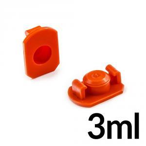 Horný uzáver kartuší 3ml pre priemer 9.5mm