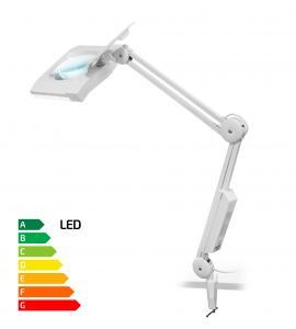 Stolná lupa s LED osvetlením typ Giga zväčšenie 8D