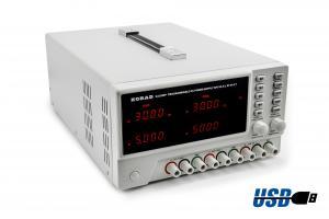 Dvojitý zdroj Korad KA3305P 2x 30V 5A s USB RS232 programovateľný