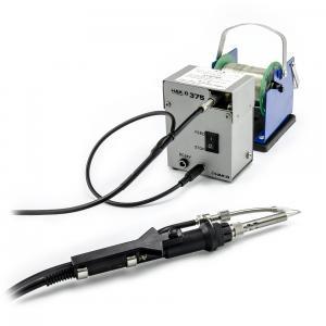 Systém narezávania a podávania cínu 1.2mm k hrotu mikrospájky Hakko 375-05+