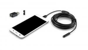 USB endoskop pre Android a PC vodeodolný 5m