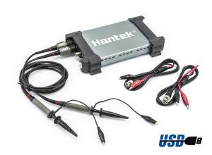 Štvorkanálový USB Osciloskop Hantek 6254BC 4CH 1GS / s 250MHz
