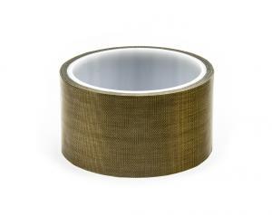 Tepelne odolná teflonovaná PTFE páska pre zváračky fólií, šírka 50 mm
