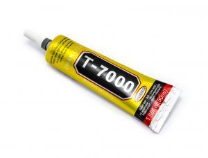 Silikónové lepidlo T-7000 pre opravy elektroniky, čierne (50ml)