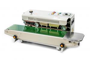 Priebežná (kontinuálna) zváračka sáčkov a fólií s tlačou a dopravníkom FR-900