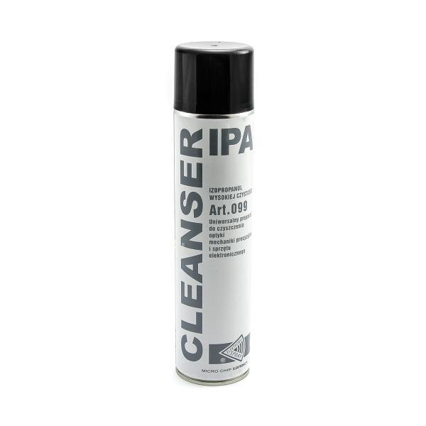 IPA izopropyl alkohol vysokej čistoty sprej 600ml