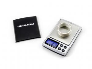 Digitálna prenosná váha s váživosťou 500g / 0,01g dielik