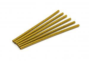Náplň do tavnej pištole zlatá flitrová (trblietavá) 7,5mm 1ks