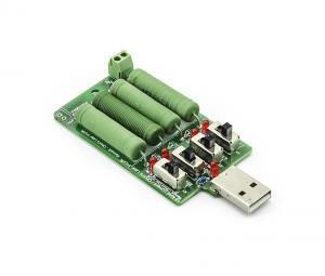 Odporová USB záťaž a vybíjač batérií, až 1,25W - 20W