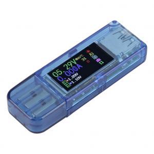 USB merač pre testovanie USB a nabíjačiek QC2.0, QC3.0, apple2.4a/2.2a/1.1a/0.5a, Android DCP