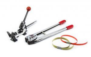 Napinák ručný na PP, PES, PET pásky 12-16mm a uzatváracie kliešte v sete
