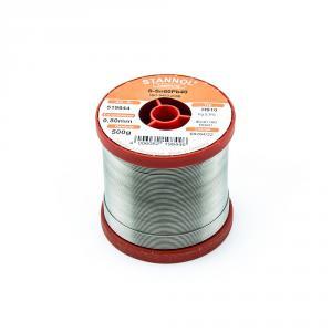 Cínová spájka trubičková 0.8mm Sn60Pb40 HS10 STANNOL 500g