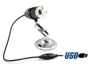 Prenosný USB mikroskop pre mikroskopické meranie, 2MPx, zoom 500x