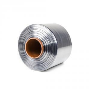Teplom smštitelná PVC fólia - polorukáv, 30micron, šírka 150mm, dĺžka 400m