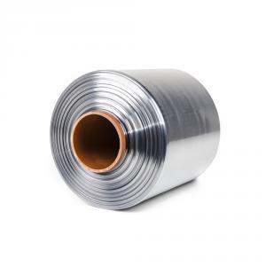 Teplom zmrštiteľná PVC fólia - polorukáv, 30micron, šírka 200mm, dĺžka 400m