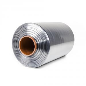 Teplom zmrštiteľná PVC fólia - polorukáv, 30micron, šírka 300mm, dĺžka 400m