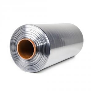 Teplom zmrštiteľná PVC fólia - polorukáv, 30micron, šírka 400mm, dĺžka 400m