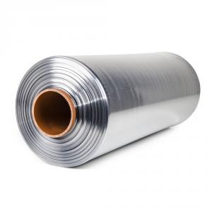 Teplom zmrštiteľná PVC fólia - polorukáv, 30micron, šírka 500mm, dĺžka 400m