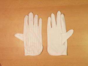Elastické rukavice s gripom