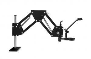 Dlhé otočné rameno pre priemyselné mikroskopy 36 - 80cm
