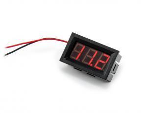 Panelový voltmeter 2.5 - 30V DC