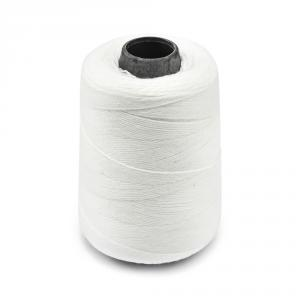 Priemyselná biela polyesterová (PES) šijacia niť pre vrecovačky 700m