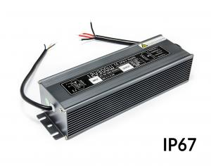 Napájací zdroj pre LED osvetlenia vodeodolný IP67 12V 25A 300W