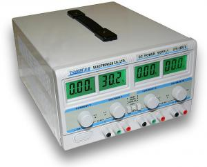 Dvojitý laboratórny zdroj JPS-305D-II - 2x30V/5A, 60V/5A, 30V/10A